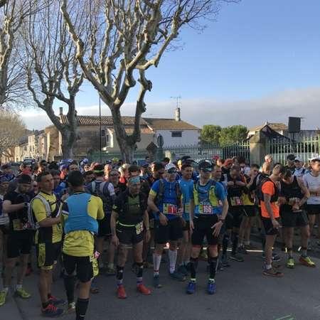 Profil course et marche 10 km - LES FOULEES DE L\'OLIVIER